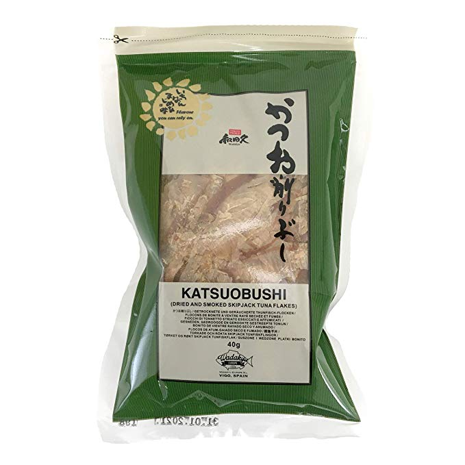 Bonito Katsuobushi Scaglie di Tonnetto affumicato Wadakyu 500gr.