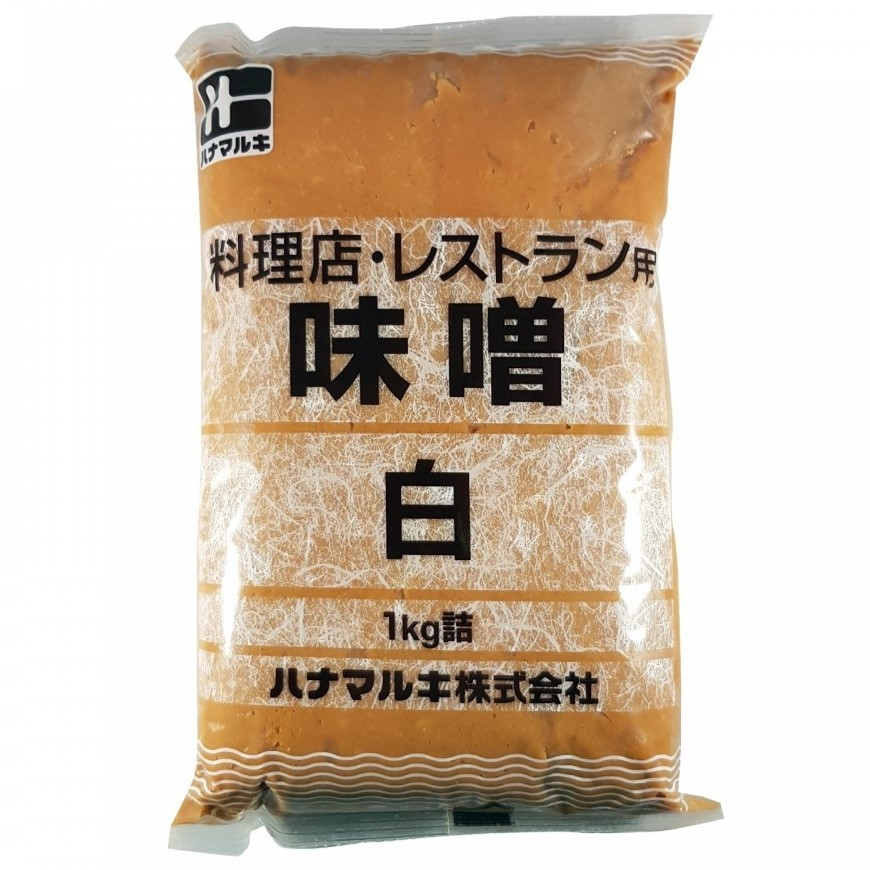 Hanamruki Pasta di Miso Shiro - Chiara 1kg.