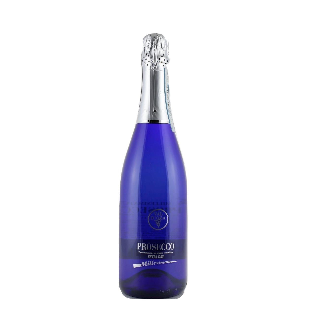 Prosecco Val d´Oca Blu millesimato DOC extra dry - Valdobbiadene