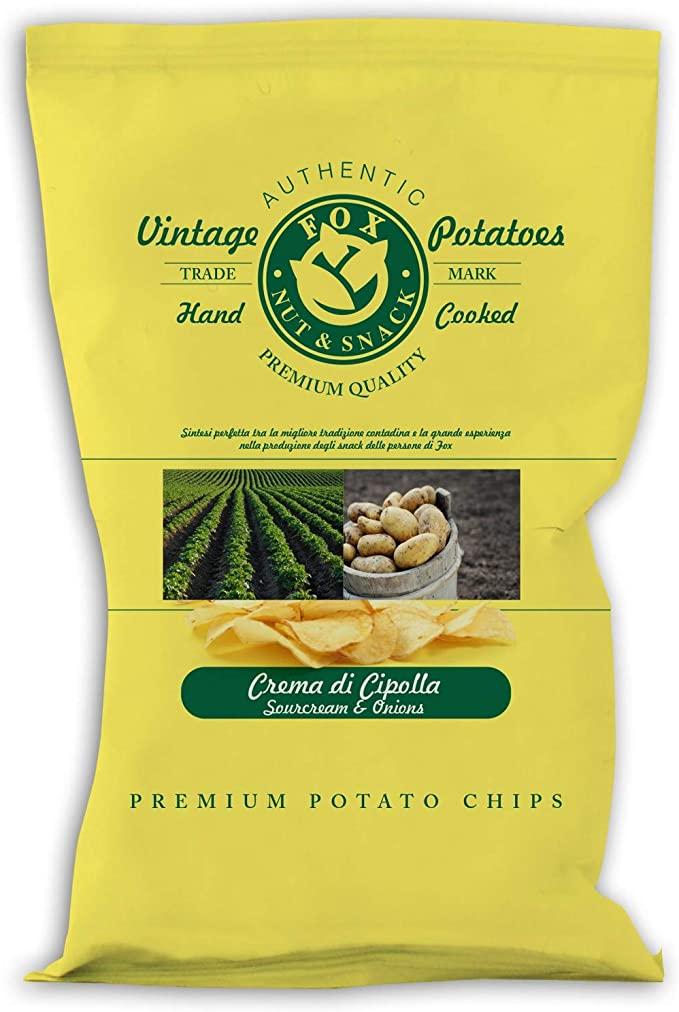 Fox Vintage Chips Crema di Cipolla