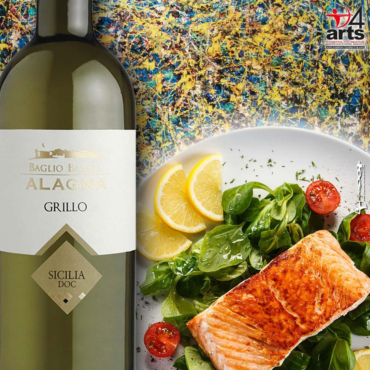 Vino Bianco Grillo DOC - Alagna Sicilia